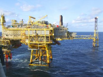 Oil platforms require robust protection against the elements.