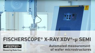 FISCHERSCOPE X-RAY XDV-μ SEMI | Automated measurement of wafer microstructures | Fischer