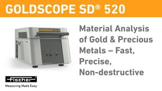 Material analysis of gold & precious metals – fast, precise, non-destructive