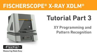 Tutorial Part 3: XY Programming And Pattern Recognition