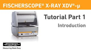 X-RAY XDV-µ Tutorial Part 1