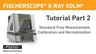 Tutorial Part 2: Standard Free Measurements, Calibration And Normalization