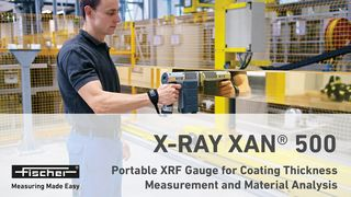 X-RAY XAN 500 mobile XRF measuring Instrument